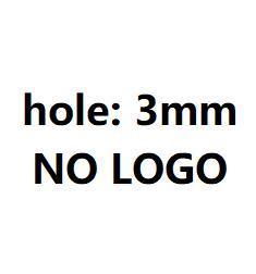 3 мм без логотипа глянцевый стальной цвет