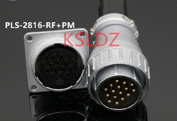 best selling Free shipping lot (1 pieces lot)original New PLT APEX PLS-2816-RF-PM PLS-2816-RF-R PLS-2816-PMX-R 16PINS Aviation Plug and Socket Connector