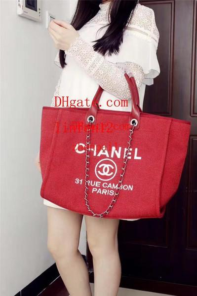 2019 haute qualité dames sac à main d'embrayage haute capacité rouge tissu tissu lettre chaîne sac à bandoulière diagonale dames mode fourre-tout AB-23