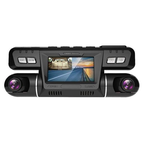 P28 Dash Cam Avec Wifi Dual 1920X1080P Avant Et Cabine Dash Caméra Voiture Dvr