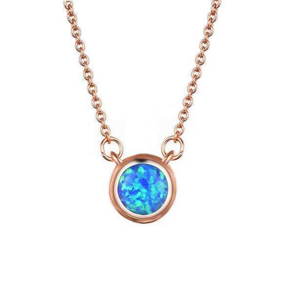 ouro rosa azul opala-45 centímetros