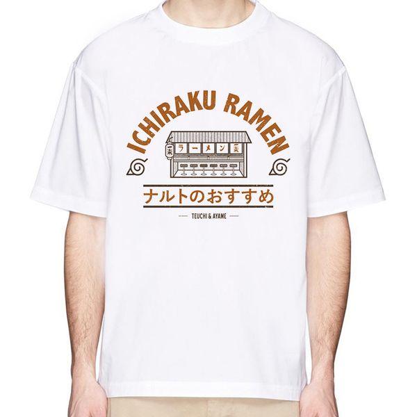 NUEVO Naruto Boruto camiseta para hombres / mujeres uchiha itachi uzumaki camiseta de anime japonés sasuke kakashi gaara impreso tops de verano