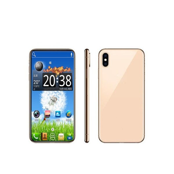 5.8 Inch Goophone X 1/16GB Face ID Support Wireless Real 4G LTE Phone WIFI GPS Camera With Accessories Unlocked Cell phone