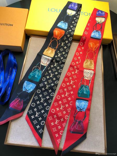 Mujeres de moda en forma de amor de anclaje collar bufandas Cravat Charm streetwear asistente de vuelo collar collar regalos de la joyería accesorios
