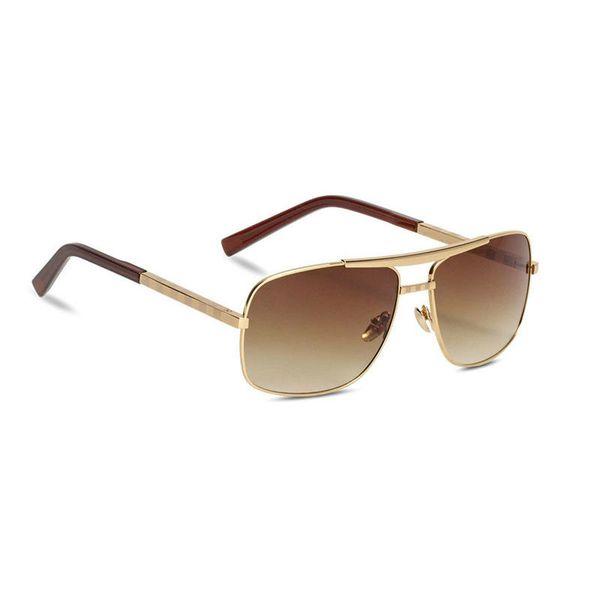 Gafas de sol de diseñador de marca para hombre Gafas de sol cuadradas polarizadas para hombre Gafas de sol de negocios para hombre de Europa UV400 Gafas de negocios superiores Envío gratis