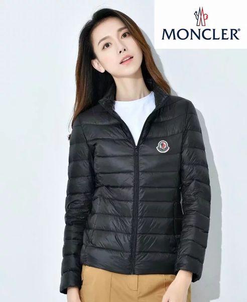 best selling Christmas Winter Standing collar Short paragraph Thin light Womn's Down jacket m0ncIer Female Korean Slim fit Thin section light coat