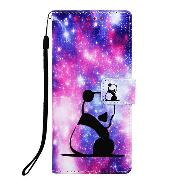 For Huawei Mate20 Lite Y6 2019 Honor 10 Lite LG Aristo 2 Stylo4 Cartoon Wallet Leather Case Unicorn Panda Tiger Stand Mandala Skin Cover