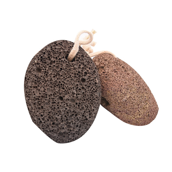 Naturale Exfoliator pietra del piede della pelle guasto Remover pietra pomice piedi del vulcano di cura di piede Natural SPA Massaggiatore piedi di pietra pedicure RRA1210