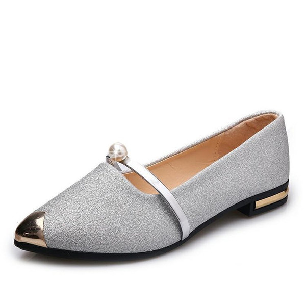 Women/'s Suede Pointy Toe Ballet Flat Shoes Multi-clolored Casual Slip On Loafers