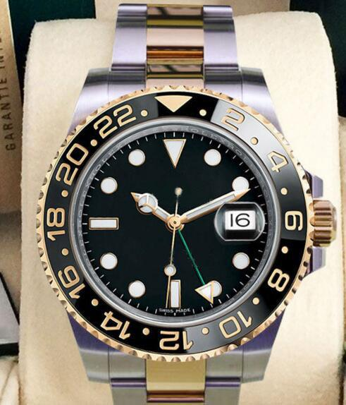 Hot 2019 New style in Original Box Men's GMT II 126711CHNR 40MM 116719BLRO 116718 116719 116713 116710 Asia 2813 Movement Automatic Watches