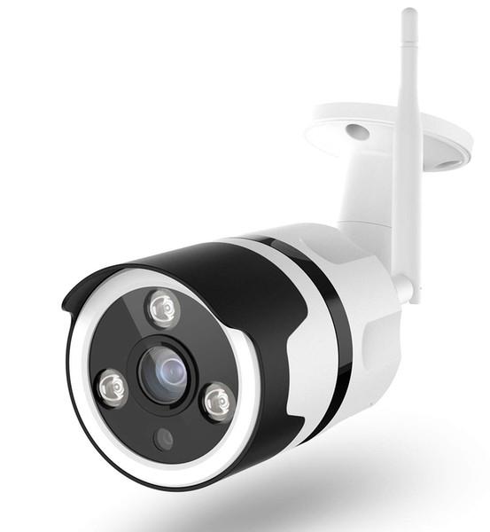 WiFi Security Camera Outdoor Wireless IP Camera 1080P 180 Degree Fisheye Panoramic Surveillance Video CCTV Camera Night Vision 100ft Waterpr