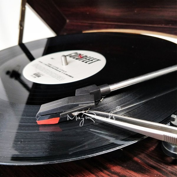 Onsumer Electronics 1 PCS Fonograph Tweezers Instalar agulha Prenda Especial Não-deslizamento com Bloqueio Turnables Consumer Eletrônicos Cheap Turnta ...