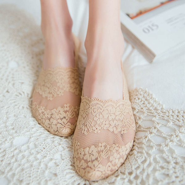 better skate shoes best selling 2019 2019 Women Girl Invisible Sock Slippers Lace Floral Ankle Socks Spring  Summer Fashion Antiskid Boat Socks Wholesale New From Xiangdeng88, $12.58  ...