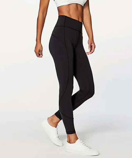 Kadınlar yoga kıyafetleri bayanlar spor tam tozluk bayanlar pantolon egzersiz spor giyim kız marka koşu tayt