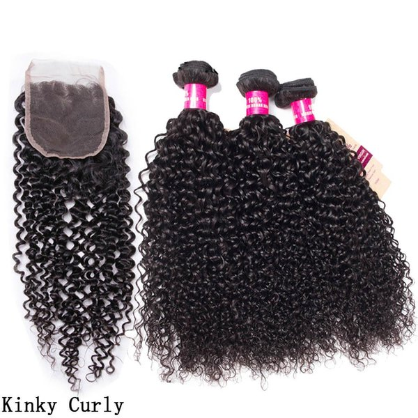 Kinky Curly With Closure