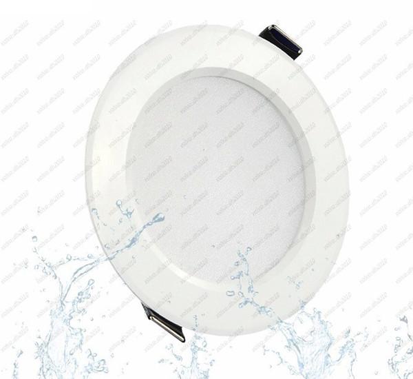 5w 7w 9w 12w 15w Dimmable Lámpara LED sin techo impermeable Downlights Light 110V 220V LED Downlight para hogar / interior LLFA