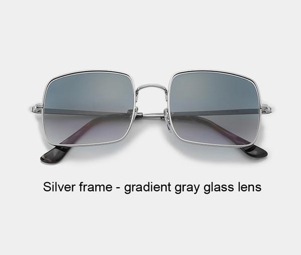 silver gradient gray