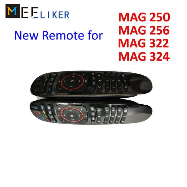 Original controle remoto da tv universal para linux set top box inteligente mag250 / ma254 / mag256 / mag322 / mag324 w2 mag 250/254/256/322/324