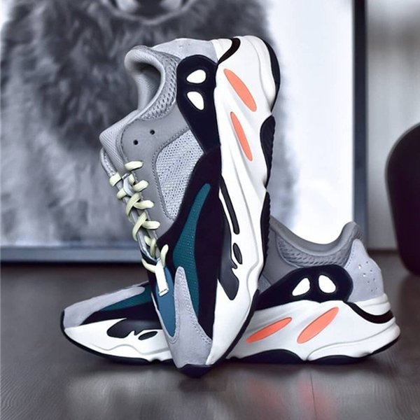 new product 4d11d 156b7 700 Boot Top Quality Kanye West Running Shoes⠀Yeezy Wave Runner 700 Men  Sports Shoes Women Fashion Designer Loafers Sneakers Boat Shoes Shoes For  Men ...