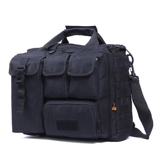 "yin qi shi men's Shoulder Bags Molle Outdoor Sport Rucksack 15"" Laptop Camera Mochila Military Tactical Computer Bag #159036"