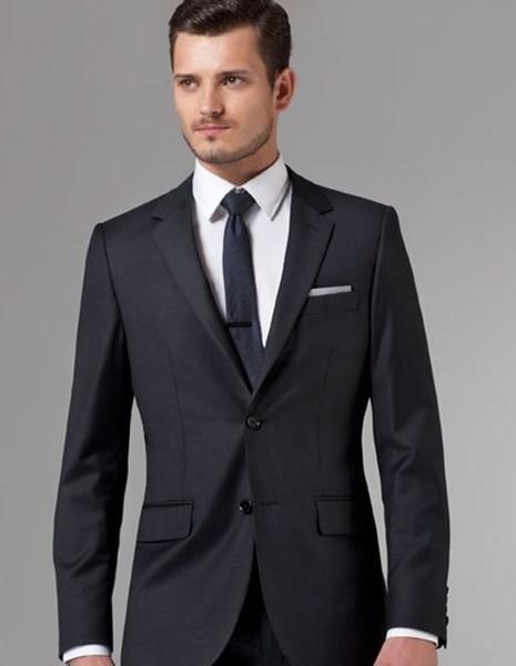 custom made suits men suit black groom wear 2019 high quality formal tuxedo