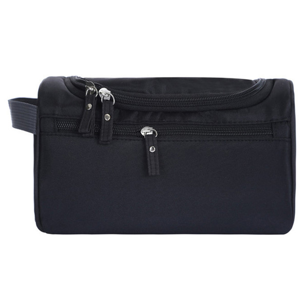Portable Hanging Large Capacity Oxford Cloth Splash Proof Organizer Makeup Bag Tote Zipper Cosmetic Travel Storage Outdoor