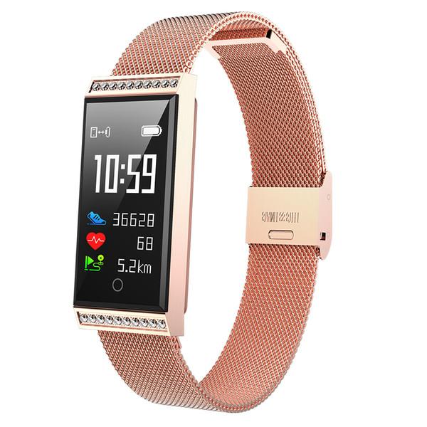 Relógio X11 Tela Colorida Inteligente Pulseira Banda Rastreador de Fitness Monitor de Freqüência Cardíaca Monitor de Pressão Arterial Pulseira fitbit smartwatch xiao mi huawei ios