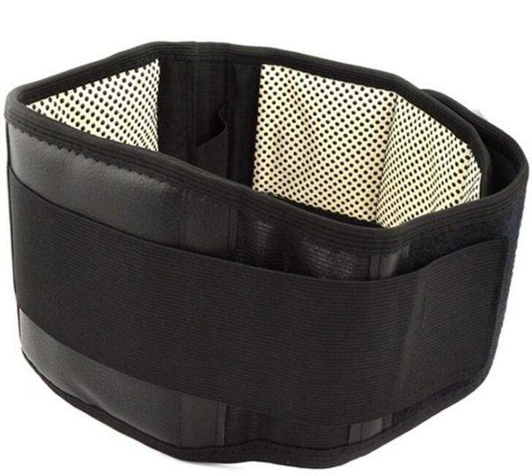 Cintura ajustable Turmalina Autocalentamiento Terapia magnética Volver Cintura Soporte Cinturón Lumbar Brace Banda de masaje Cuidado de la salud