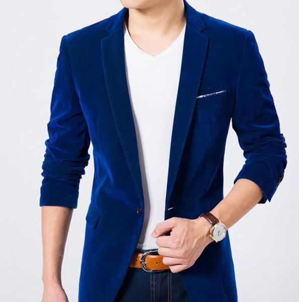 Mens Blue Blazer