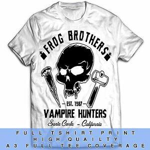 The Lost Boys Inspired Frog Brothers Horror Zombie Classic Vampires 80s T Shirt