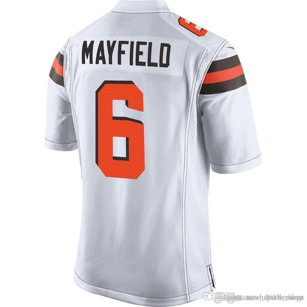 sports shoes 63132 9bc89 2019 Cleveland Jersey Browns 6 Baker Mayfield Football Jerseys 21 Denzel  Ward 80 Jarvis Landry Color Rush 95 Myles Garrett 31 Nick Chubb 22top Sa  From ...