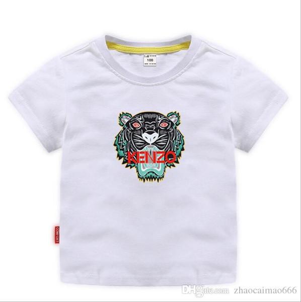 top popular TRGU New Designer Brand 2-9 Years Old Baby Boys Girls T-shirts Summer Shirt Tops Children Tees Kids shirts Clothing A01 2020