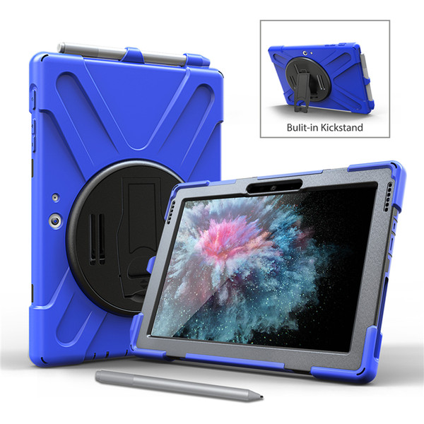 """3 in 1 For Apple ipad 9.7"""" 2017/2018 pro 10.5 Samsung Tab active2 8.0 T390/T395/T397 Surface Pro 456 Surface go Cover Shockproof case"""