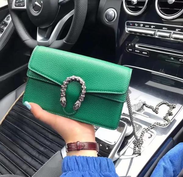 Fábrica al por mayor marca mujeres bolso retro coche costura cuero mujeres bolso nuevo imitación vieja cadena de bloqueo bolsa moda color bordado