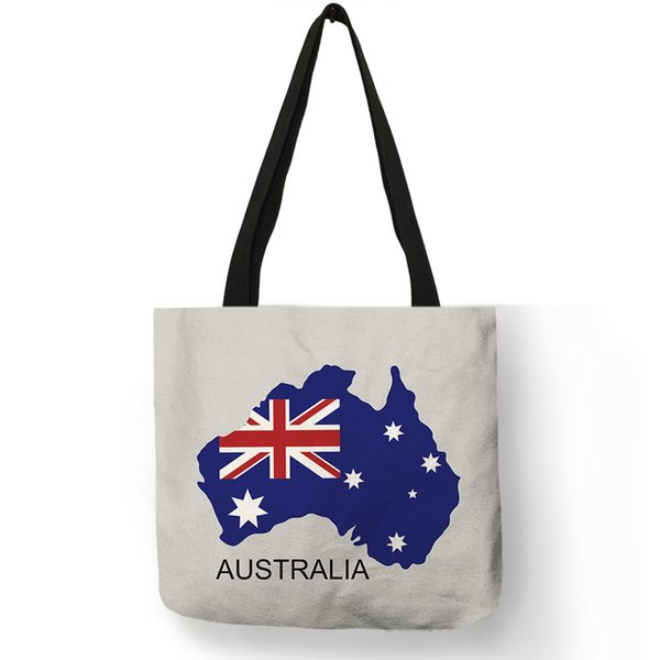 d1800a3021cb Special Creative Design Tote Bag Country Map With National Flag Printing  Shoulder Bags For Outdoor Use Daily Office Bags Bolsa Handbags Purses From  ...