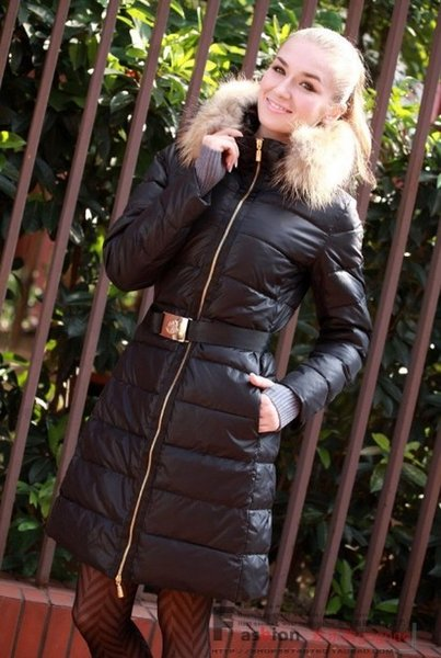 Lady's Down Coat Black Long Winter Jacket For Women Fashion down Parka Women Winter Coat Warm Fur Collar Ladies Jacket