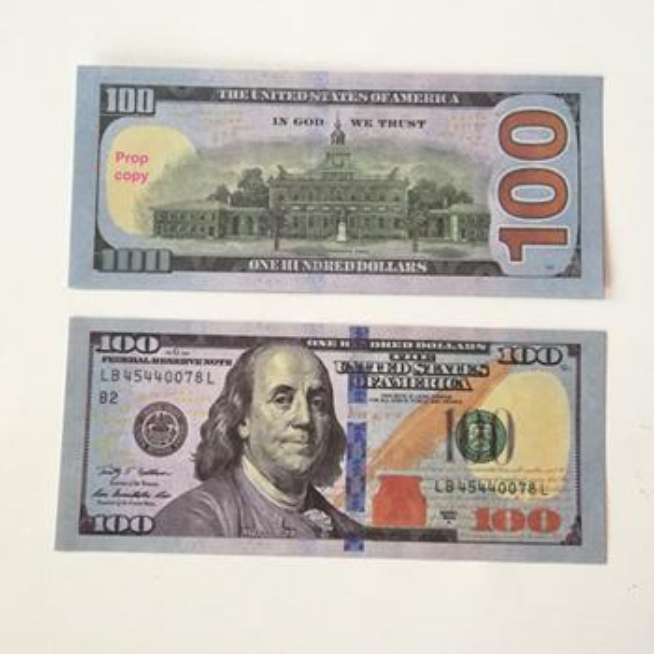 100pcs 100Dollar