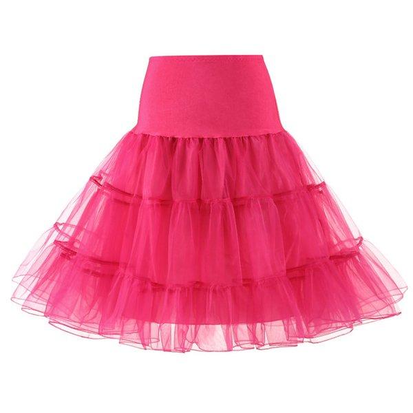 Rose Red Petticoat