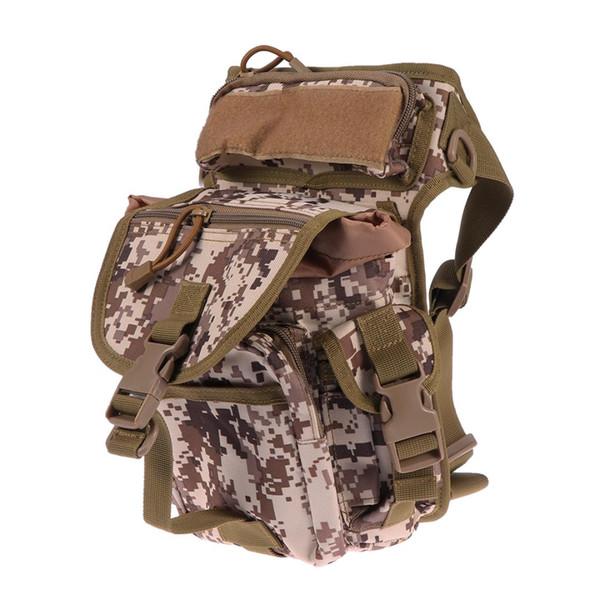 Portable Outdoor Waterproof Waist Bag Multifunctional Soft Tactical Handbag for Hunting Fishing Hiking Climbing
