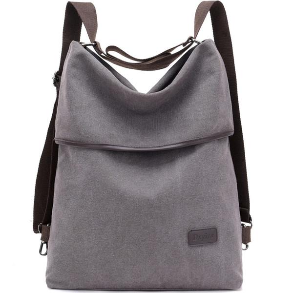2018 Grande borsa delle donne Canvas Casual Antique Borsa a tracolla panno di cotone Hobo Ladies multifunzione Messenger Travel Work # 113305