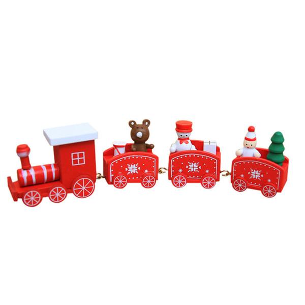 4 Segments Train-Red
