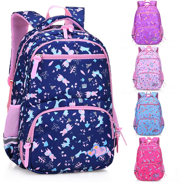 Children School Bags Unisex Orthopedic Kids Comfortable Backpacks Primary School