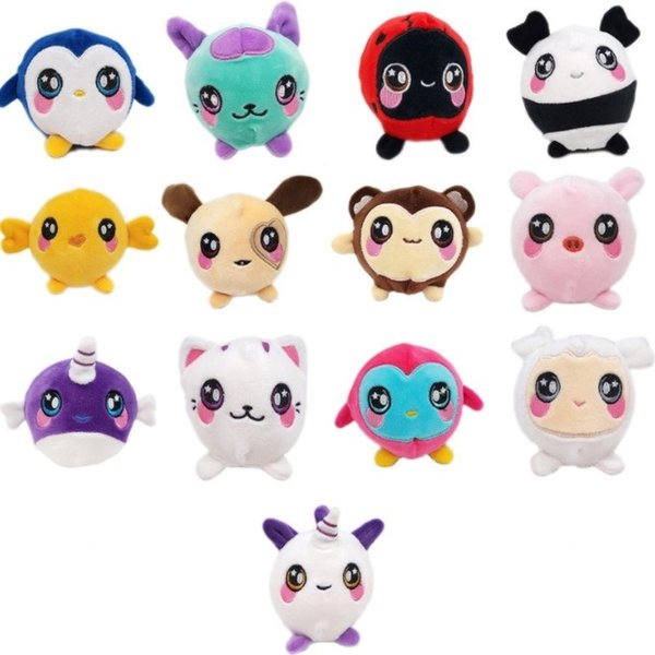 9-10 CM Lento Rising Animais Sports Entretenimento Novidade Gags Brinquedos Stress Relief Fun Squush Surpresa Pelúcia YH1703