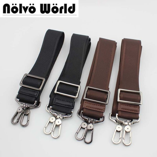 Luggage Bags Bag Parts Accessories 32mm 38mm wide change new man black brown bag strap,high quality hook men briefcase purse bags adjust