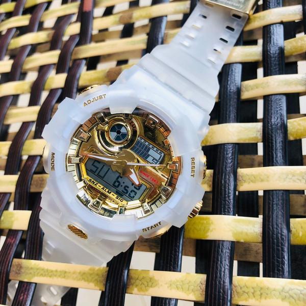 35-летие издание GA700 GXW56 унисекс часы металлический кварцевый спорт светодиодный д