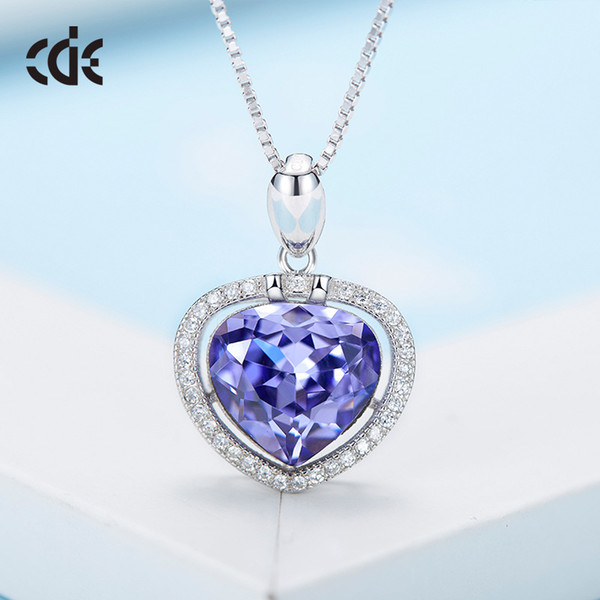 wedding party silver s925 beaded pearl gift woman lady diamond jewelry necklaces for bride acting initiation graduation cde-390 - from $30.54