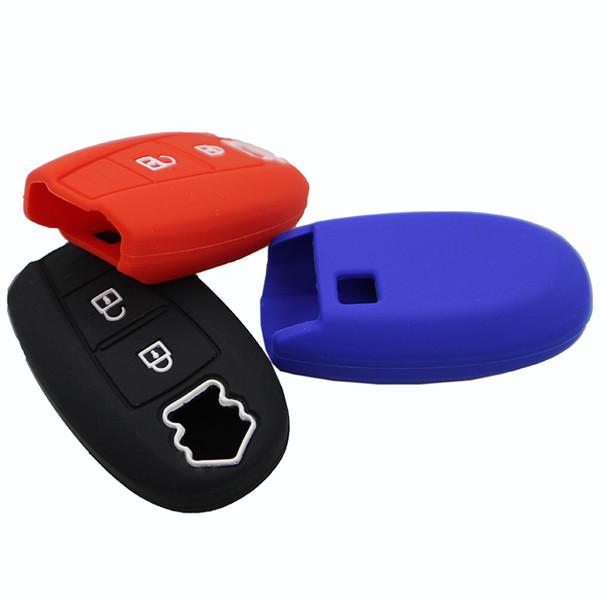 Silicone chiave a distanza Car Cover Fob caso chiave Shell di buona qualità Holder 2 pulsanti per Swift Sport Sx4 Scorss