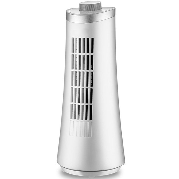 Candimill New 220V Electric Tower fan 2 files adjustable Small Cooling Cool Desk Tower Fans For Home Office Without Vane