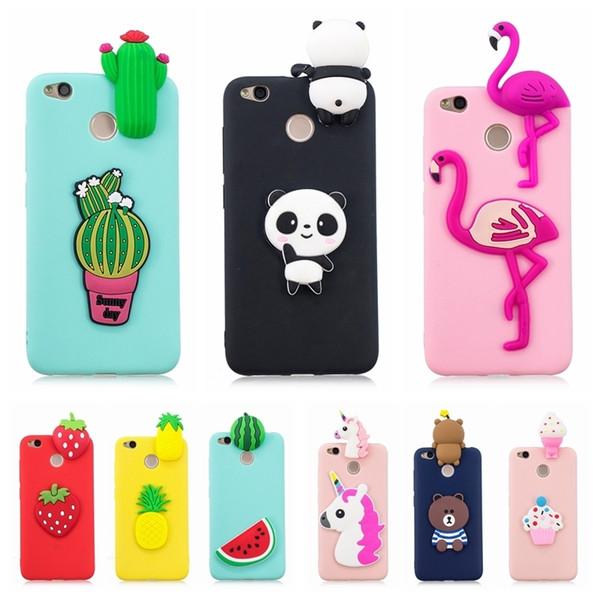Xiaomi redmi 4x Case Cover Silicon 3D Phone Case for Xiaomi redmi 4x 4x 4