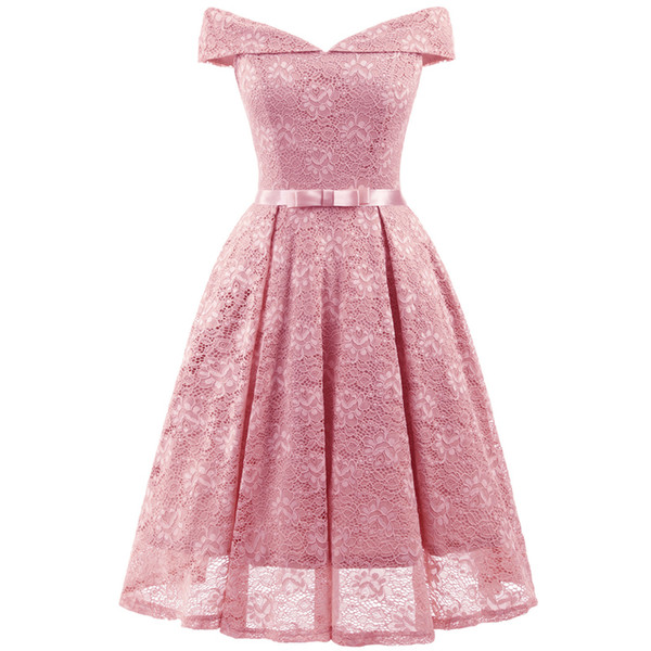 Birthday Party Dress For Girls V Collar Lace Mother & Daughter Dresses 12-20 Y Teen Girl Dress Girls Teenagers Prom Gowns Dress J190517